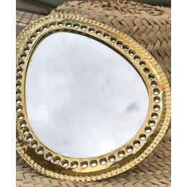 Miroir rond Doum