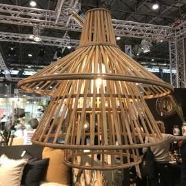 Suspension bambou 3 niveaux