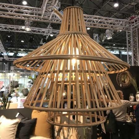 Suspension en Bambou esprit vintage