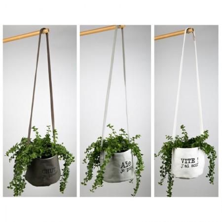 Portes plantes en toile enduite