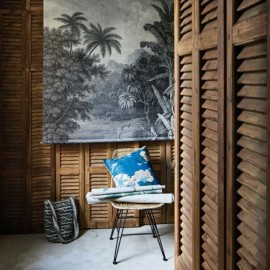 Panneau Mural peint jungle XXL
