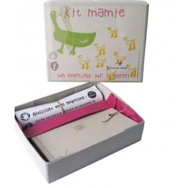 "Kit moulage argile ""mamie"" ou kit ""maman"""