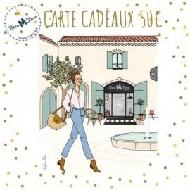 Carte Cadeau Beau M Store valeur 50€