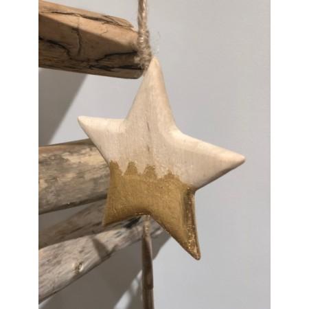 Suspension de Noël suspension de noël - bois - L 9,5 x