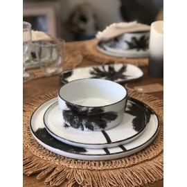Ramequin Palmiers noir&blanc
