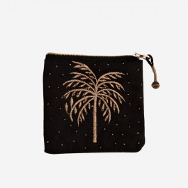 Pouch embroided