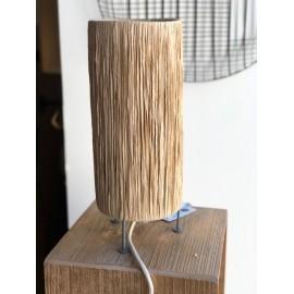 Lampe à poser Raffia naturel - Madam Stoltz