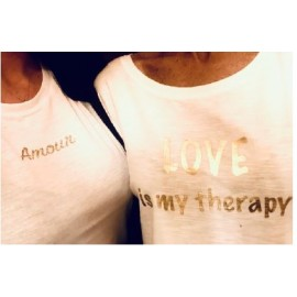 Tshirt Love is my Therapy