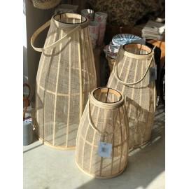 Lanterne bambou & Gaze de coton