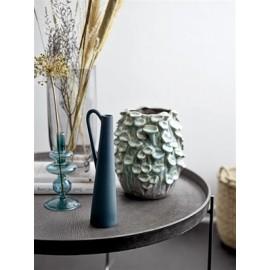 vase coquillage vert