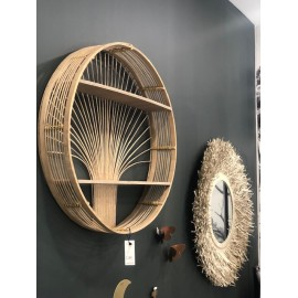 Round Bambou Shelves