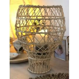Photophore Lanterne Bambou