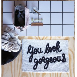 "Tapis de bain ""you look Gorgeous"""