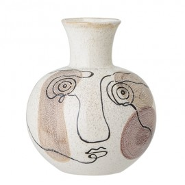 Vase multicolore terracotta