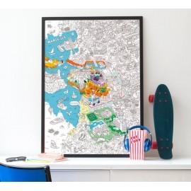"""Carte """"les Devoirs- Minimel"""
