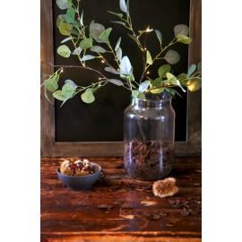 Branche eucalyptus 1m éclairée par 16 Leds