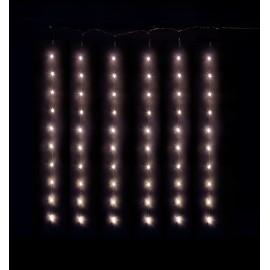 Rideau d'étoiles lumineuses led 75 x 78 cm