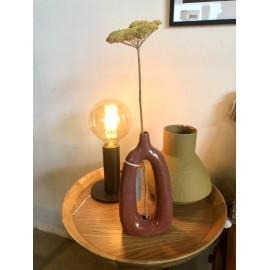 Vase multicolore terracotta