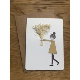 """Carte """"L'amour Vaincra"""" - Minimel"""
