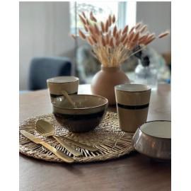 Set de 4 gobelets à café coloris assortis