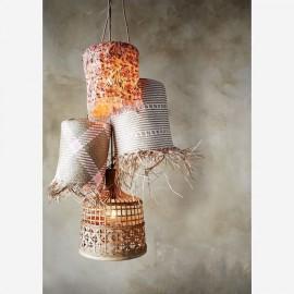 Lampe en corde et algue - Madam Stoltz
