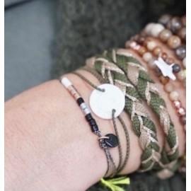 Bracelet élastique AGATHE Margote Ceramiste