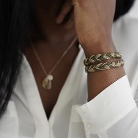 Bracelet tressé Bonnie - Margote Ceramiste