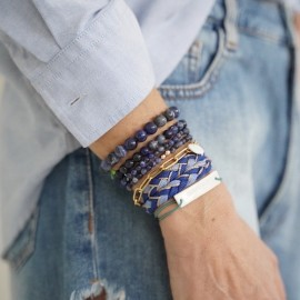 Bracelet perle de pierre Divine- Margote Ceramiste