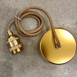 Cable électrique finition corde 1.5m