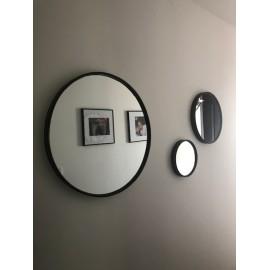 miroir Ronds metal vieilli