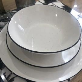 Assiettes à soupe 18cm