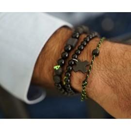 Bracelet noir Essentiel Spirit Margote Ceramiste