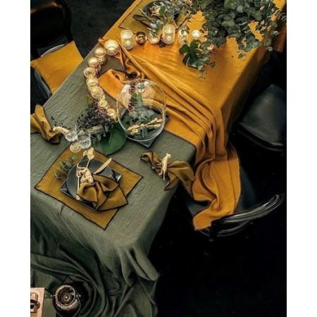 Set de table feuille rotin