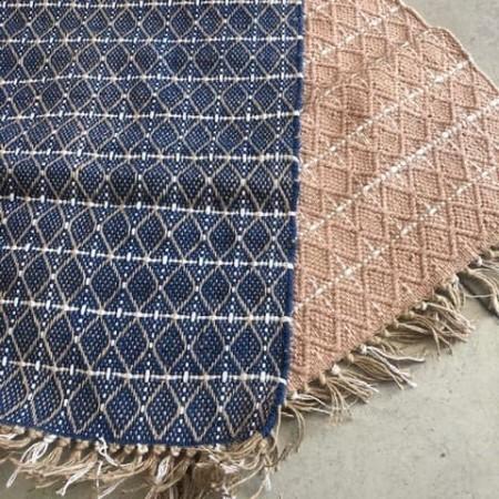 tapis rectangle liseré noir - Opjet