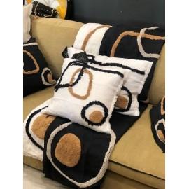 Edredon Sofa Cover coton imprimé brodé