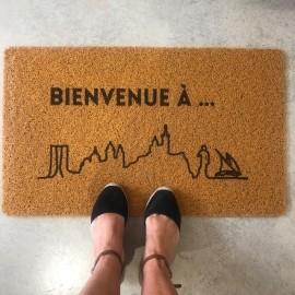 Paillasson Bienvenue à Marseille