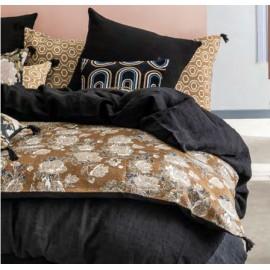 Edredon Sofa Cover coton imprimé pivoine- HARMONY