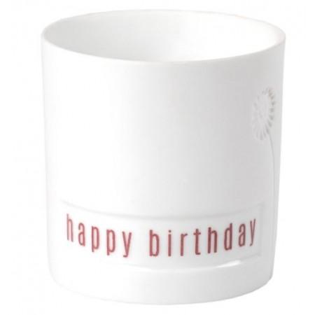 Mini Photophore Happy Birthday