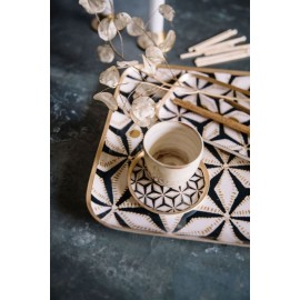 Plateaux Rectangle Star Carbone