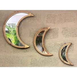 Miroir Lune Bambou