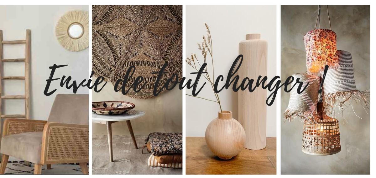 Envie de tout changer !