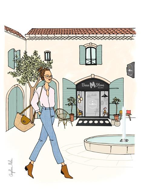La boutique Beau M Store Cour des Granges Gémenos